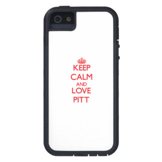 Keep calm and love Pitt Cover For iPhone 5