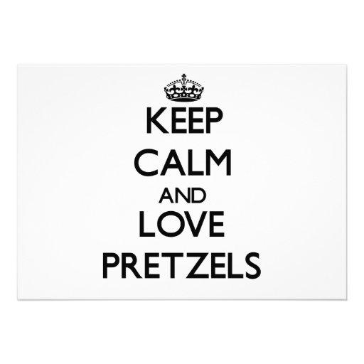 Keep calm and love Pretzels Announcements