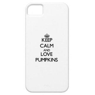 Keep calm and love Pumpkins iPhone 5 Cover
