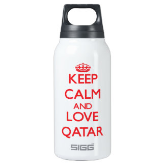 Keep Calm and Love Qatar SIGG Thermo 0.3L Insulated Bottle