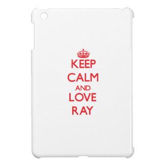 Keep calm and love Ray iPad Mini Case