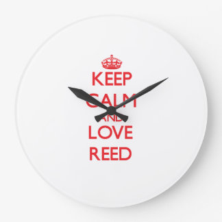 Keep calm and love Reed Clocks