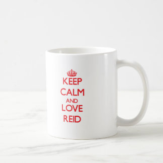 Keep calm and love Reid Classic White Coffee Mug