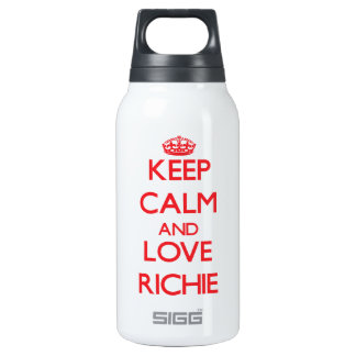 Keep calm and love Richie SIGG Thermo 0.3L Insulated Bottle