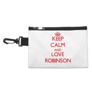 Keep calm and love Robinson Accessory Bag