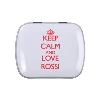 Keep calm and love Rossi Candy Tins
