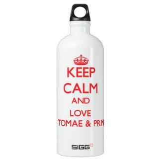Keep Calm and Love Sao Tomae & Principe SIGG Traveler 1.0L Water Bottle