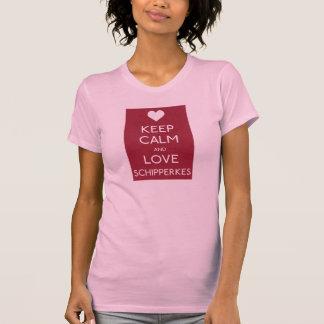 Keep Calm and Love Schips T-Shirt