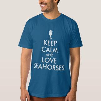 Keep Calm and Love Seahorses T-Shirt