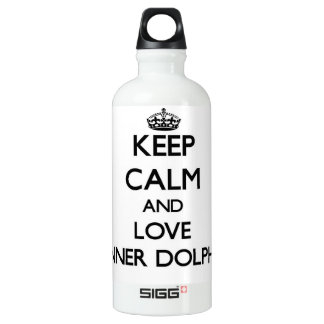 Keep calm and Love Spinner Dolphins SIGG Traveler 0.6L Water Bottle