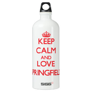 Keep Calm and Love Springfield SIGG Traveler 1.0L Water Bottle