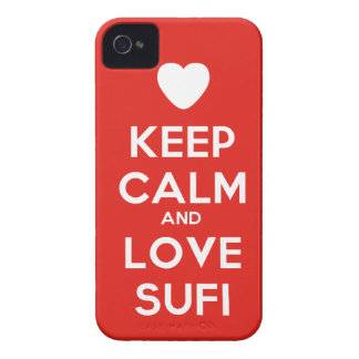 Keep Calm And Love Sufi Case-Mate iPhone 4 Cases