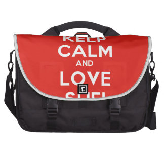Keep Calm And Love Sufi Laptop Bags