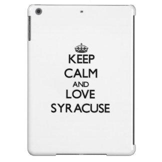 Keep Calm and love Syracuse iPad Air Cover