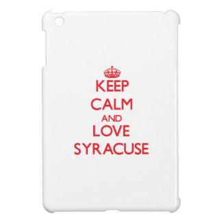 Keep Calm and Love Syracuse iPad Mini Cases