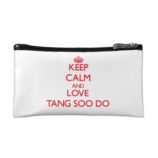 Keep calm and love Tang Soo Do Cosmetic Bag