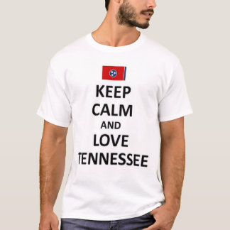 Keep calm and love Tennessee T-Shirt