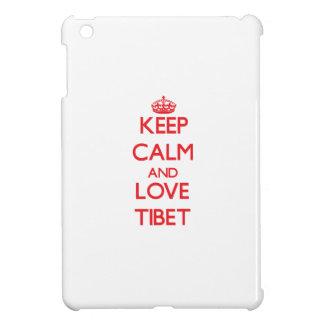 Keep Calm and Love Tibet iPad Mini Cover