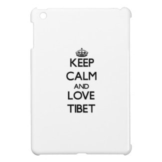 Keep Calm and Love Tibet Case For The iPad Mini