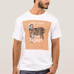 Keep Calm and Love Tigers T-Shirt