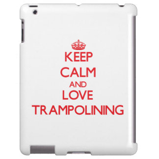 Keep calm and love Trampolining