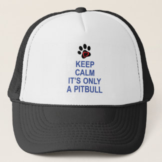 Keep Calm... and LOVE Trucker Hat