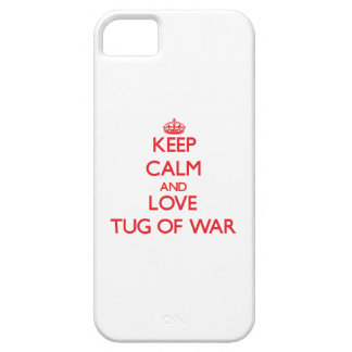 Keep calm and love Tug Of War Cover For iPhone 5/5S