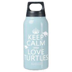 SIGG Thermo Bottle (0.5L) with Keep Calm and Love Turtles design