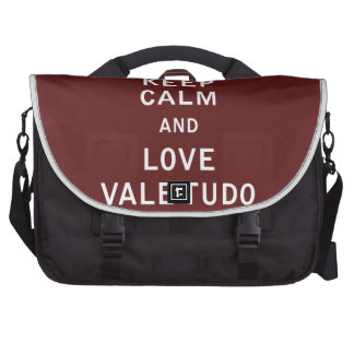 Keep Calm and Love Vale Tudo Bag For Laptop
