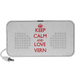 Keep Calm and Love Vern Speakers