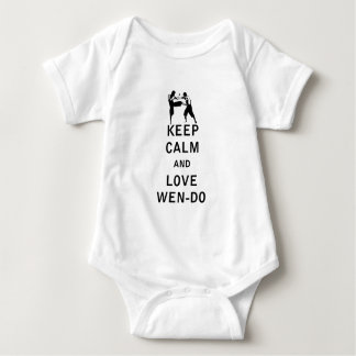 Keep Calm and Love Wen-Do Baby Bodysuit