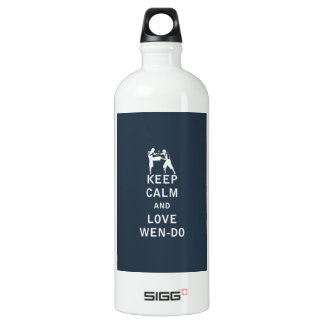 Keep Calm and Love Wen-Do Water Bottle