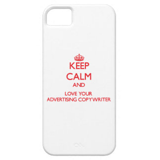 Keep Calm and Love your Advertising Copywriter iPhone 5 Cover