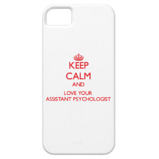 Keep Calm and Love your Assistant Psychologist iPhone 5 Case