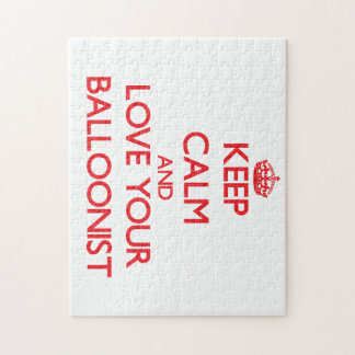 Keep Calm and Love your Balloonist Puzzles