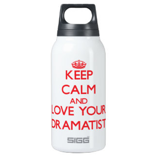 Keep Calm and Love your Dramatist SIGG Thermo 0.3L Insulated Bottle