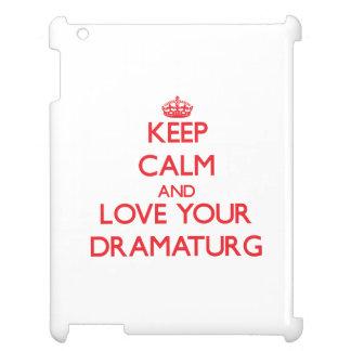 Keep Calm and Love your Dramaturg iPad Covers