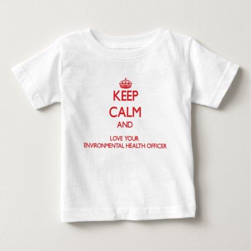 Keep Calm and Love your Environmental Health Offic Tees T-Shirt, Hoodie, Sweatshirt