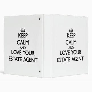 Keep Calm and Love your Estate Agent Binders