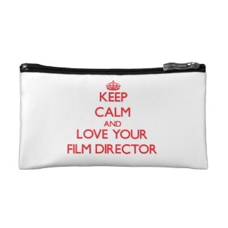 Keep Calm and Love your Film Director Cosmetics Bags