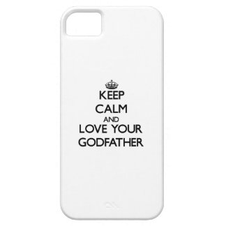 Keep Calm and Love your Godfather iPhone 5 Covers