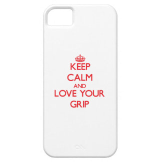 Keep Calm and Love your Grip iPhone 5 Case