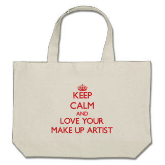 Keep Calm and Love your Make Up Artist Bag