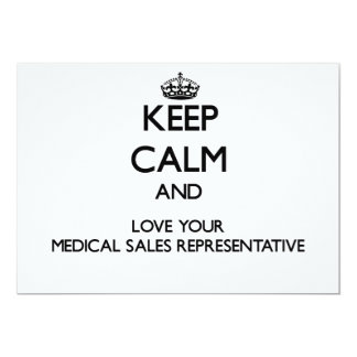 Keep Calm and Love your Medical Sales Representati Announcements