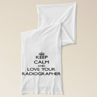 Keep Calm and Love your Radiographer Scarf