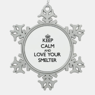 Keep Calm and Love your Smelter Ornaments