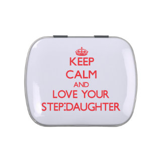 Keep Calm and Love your Step-Daughter Jelly Belly Tins