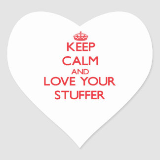 Keep Calm and Love your Stuffer Sticker