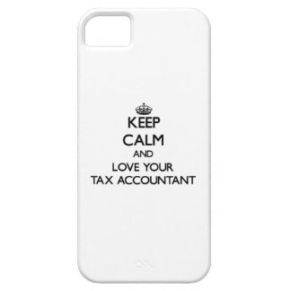 Keep Calm and Love your Tax Accountant iPhone 5 Covers