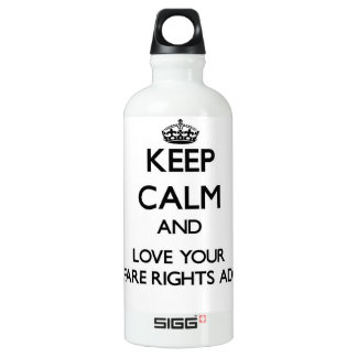 Keep Calm and Love your Welfare Rights Adviser SIGG Traveler 0.6L Water Bottle